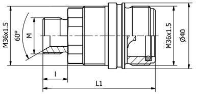 Zásuv.ZS-20 M22,60(56802260)
